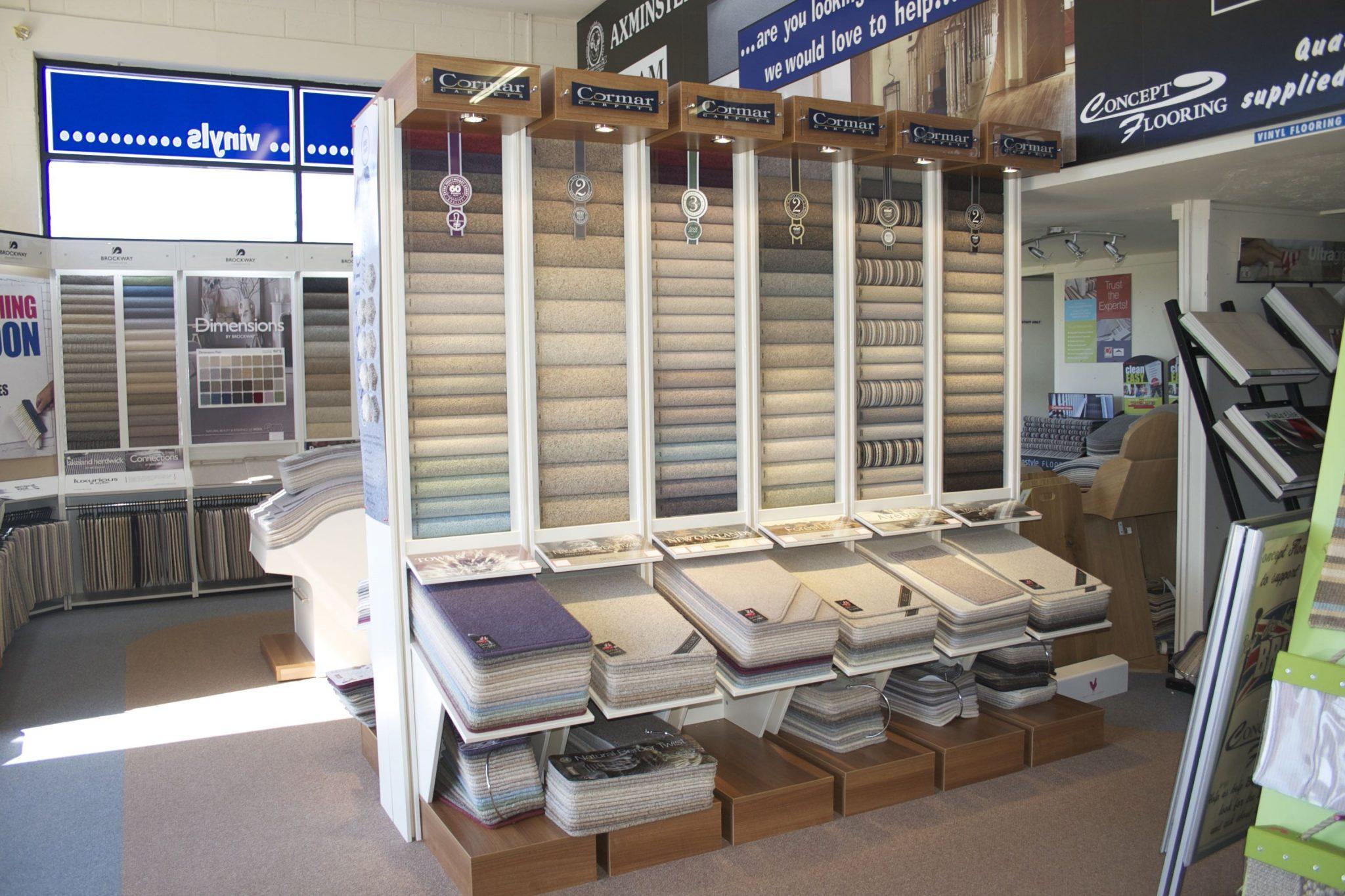Concept flooring carpets karndean cushion flooring tiles for Franks flooring